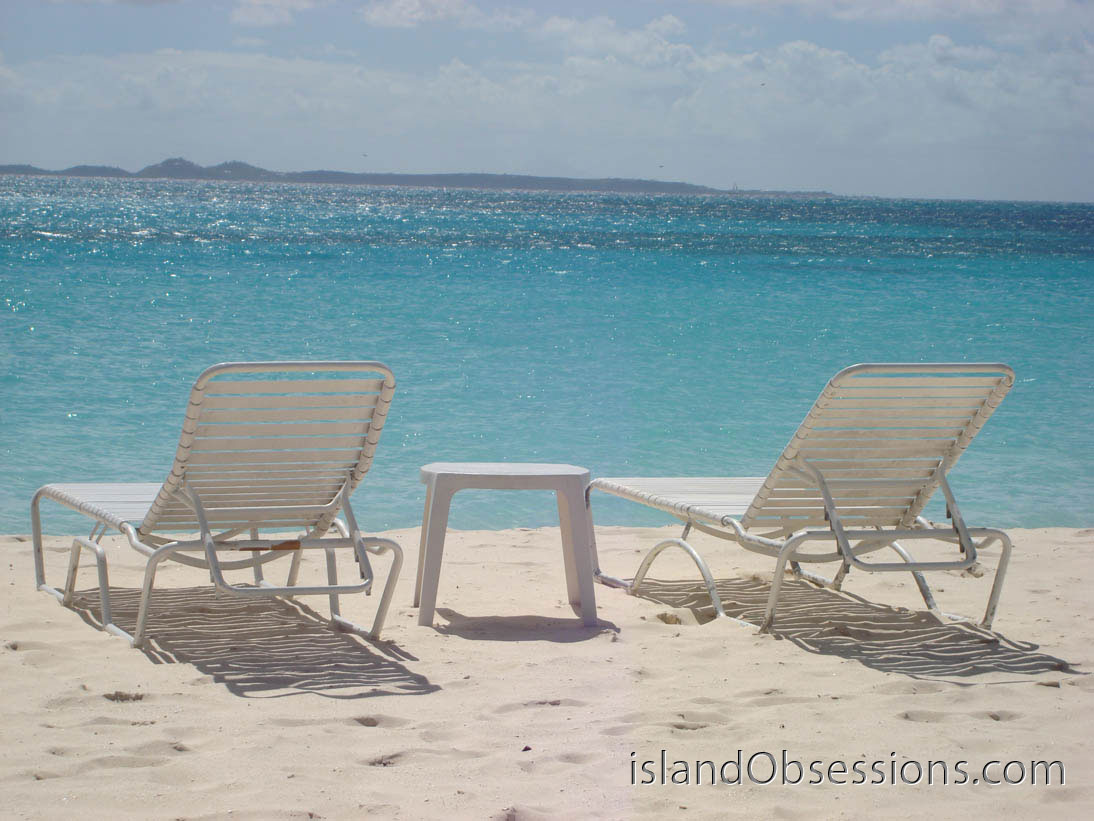 Sunshine Shack Anguilla Beach Chairs