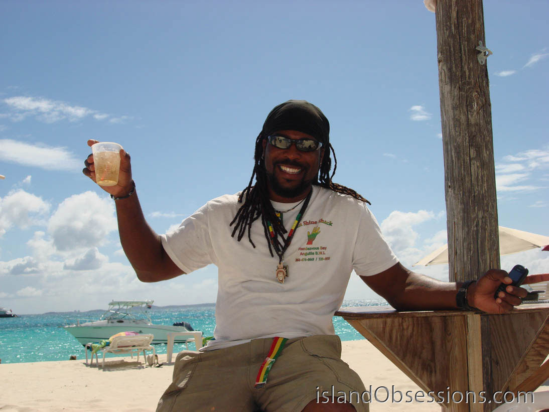 Go join Garvey at the Sunshine Shack Anguilla!