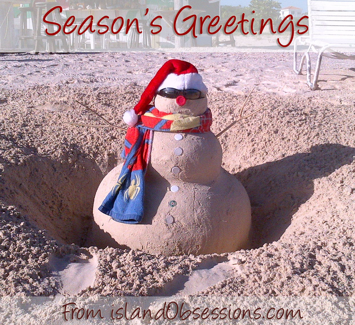 Seasons Greetings from islandObsessions.com!